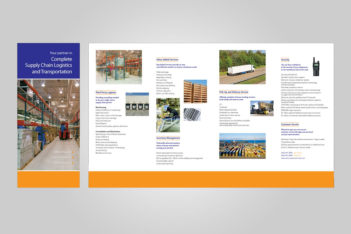 professional brochure design orange county
